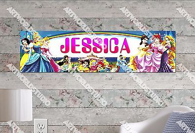 Personalized//Customized Shrek Name Poster Wall Art Decoration Banner