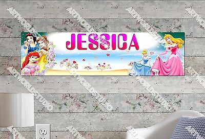 Personalized//Customized Paw Patrol #2 Name Poster Wall Art Decoration Banner