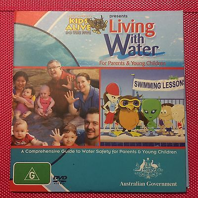Living With Water For Parents & Young Children - DVD - CPR GUIDE - Fast dispatch