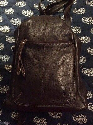 Women's Genuine Leather Backpack Purse, Travel Bag