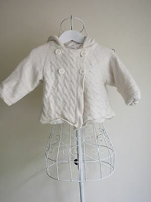 """""""Country Road"""" Size 12-18 months - Girls Cute Hooded Jacket - Great! Bargain!"""