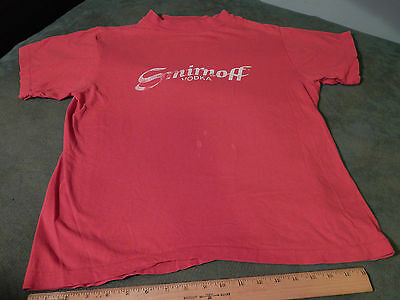 """1982_Smirnoff 80 Proof Vodka """"Leaves you Breathless"""" Campaign (Size: M) T-SHIRT"""