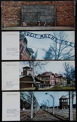 Auschwitz Concentration Camp photo cards Oswiecim Poland Lot of 18 vintage old