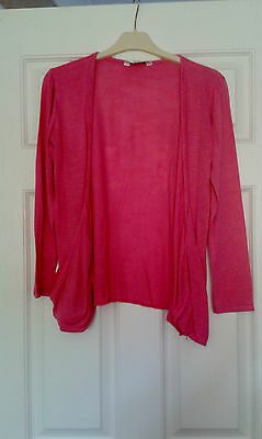 Girls Pink Cardigan Age 12 - 13 Years