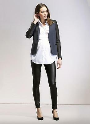 Isabella Oliver Dover leather Maternity Leggings -Size 2 - RRP £299
