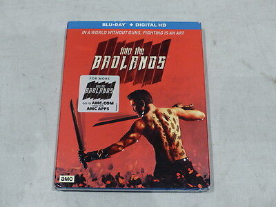 Into The Badlands Blu-Ray+Digital Hd Amc New / Sealed With Slipcover