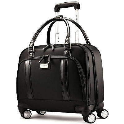 Samsonite Business Women's Spinner Mobile Office, Rolling Briefcase in Black