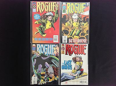 ROGUE Lot of 4 Marvel Comic Books - Complete Set #1 2 3 4!