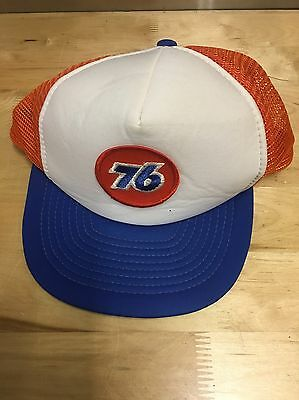 Vintage 76 Gas Trucker Hat Cap SnapBack Mesh Hipster Great Condition