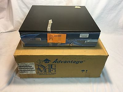 MMF Advantage Cash Drawer 18x16.7 3 Slots Stainless Steel Front Kwick Kable POS