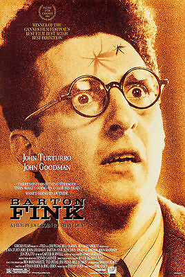Barton Fink (1991) Original Movie Poster  -  Rolled