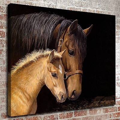 """12""""x16"""" Animals to close Painting HD Print on Canvas Home Decor Wall Art Picture"""
