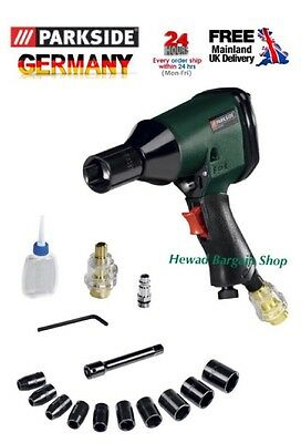 Powerful Pneumatic Impact Wrench