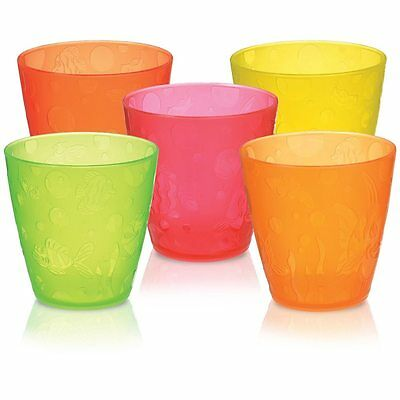 Munchkin Five Multi Cups Pack of 5 Five 8oz New Color Model Toddler Bpa Free NEW