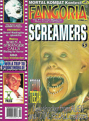 Fangoria #146 (1995, 84 pages, full colour) good as new