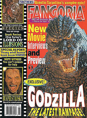 Fangoria #145 (1995, 84 pages, full colour) good as new