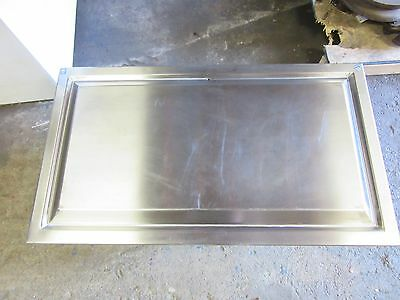 "Cold Plate, Stainless Steel Top, 115V, Drop In Type "" (16-041-060)"