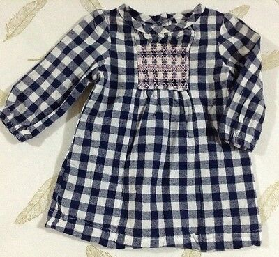 Target Baby Girls Long Sleeve Dress Size 3-6 Months 00