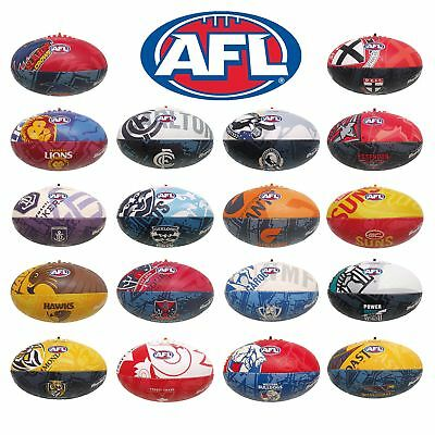 Official AFL Team Synthetic Football size 2