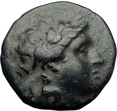 ANTIOCHOS II Theos 261BC Seleukid Tripod Authentic Ancient Greek Coin i60750
