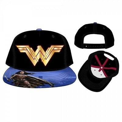 Dawn Of Justice Wonder Woman Snapback Cap Brand New