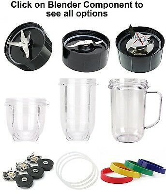 Replacement parts,Fit Magic Bullet,Blade,Gasket,Gear,Clutch,Cup,Jar,Cross,Flat