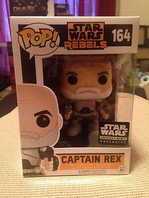 Star Wars Rebels Funko Pop! Captain Rex Figure #164 - Sumgglers Bounty Exclusive