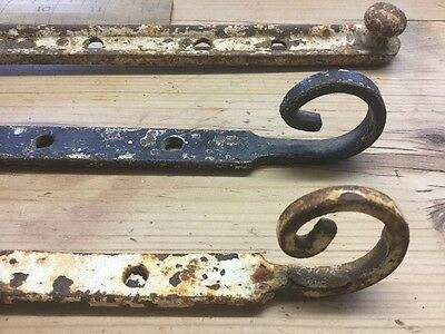 Antique/vintage Cast Iron Window Stay Leavers