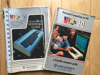 VIC-20 Programmer's Reference Guide & Personal Computing on the VIC-20 Guide