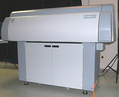 Chromira 50-5x with densitometer, Scanner and Computer and smaller roll adapter