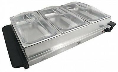 Compact Buffet Server and Warming Tray, Perfect For BBQ's, Parties and Much More