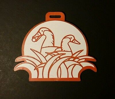 Vintage Big Island Golf Bag Tag Country Club Hawaii Kona Nene 70's 80's