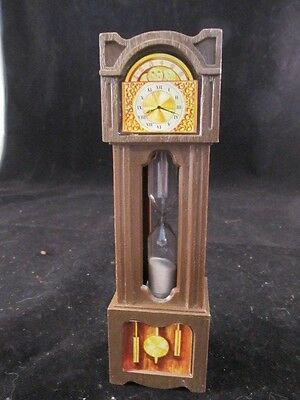Vintage 3 Minute Grandfather Clock Egg Timer