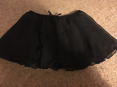 EUC Children's SEE THROUGH DANCE SKIRT, OS? One Size