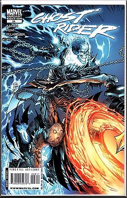 Marvel Comics GHOST RIDER #28 VARIANT COVER BY SILVESTRI