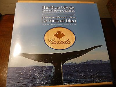 2010 Royal Canadian Mint The Blue Whale Coin And Stamp Collection Sealed