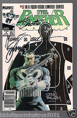 The Punisher #3 Signed by John Beatty, Gerry Conway, Jim Shooter, Mike Zeck WCOA