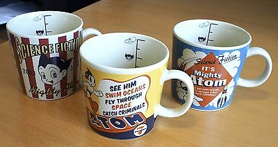 Astro Boy Tetsuwan Atom Mug Set Complete Official Shin & Co Tezuka Japan New!