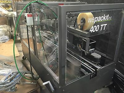 Wepackit 400TT Case Sealer. Absolutely Immaculate Condition!