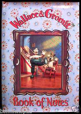 NEW Wallace & Gromit Blue Book of Notes, Collectible Journal, GREAT GIFT!!