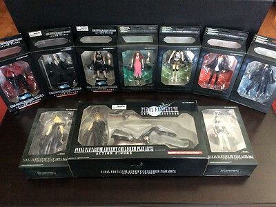 Final Fantasy 7 VII & Advent Children Play Arts Action Figure Figurines LOT SIB