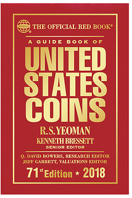 2018 A Guide Book of United States Coins RED BOOK 71st Edition HARDCOVER