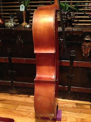 Old Cello Labeled For Repair, Probably German or French