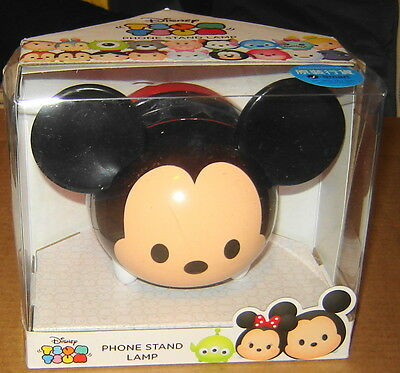 Disney Tsum Tsum Mickey Mouse Phone Stand Lamp Nib New In Box 2016