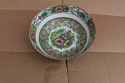 Antique Chinese porcelain bowl, hand painted