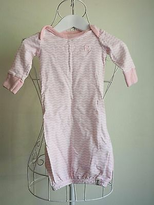 """""""Cotton On Baby"""" Baby Girl Size 0000 Pink Sleep Suit  -Great Condition! Bargain!"""