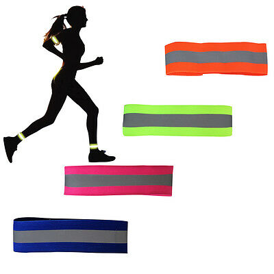 Night Safety Reflective Band Belt Light Outdoor Sports Running Cycling Accessory
