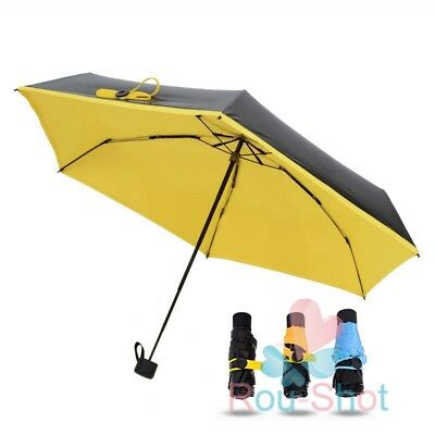 Pocket sized Parasol Foldable Anti UV Sun Umbrella Lightweight Windproof【AU】