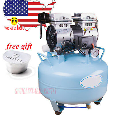industrial Dental Medical Noiseless Silent Oilless Air Compressor AIR Filter