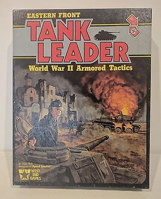 Eastern Front - Tank Leader - World War II Armored Tactics Boardgame